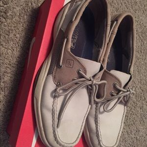 Other - Sperry's white/brown size 11